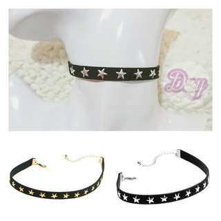 "[MerryCharms.com/Day 21] DY2103 ""Party Star"" Choker/Collar"