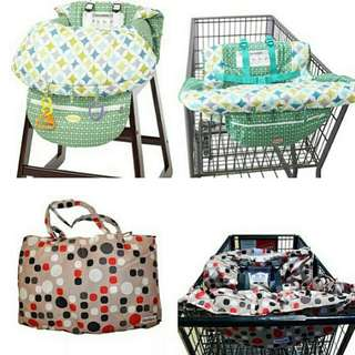 *FREE DELIVERY to WM only / Ready stock* Kids high chair/trolley cover as shown design/color from RM46. Free delivery is applied for this item.              Basic RM50     Others RM69