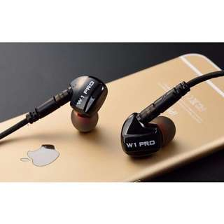 (7-DAY OFFER) W1 Pro IEM With Detachable Cable And Mic