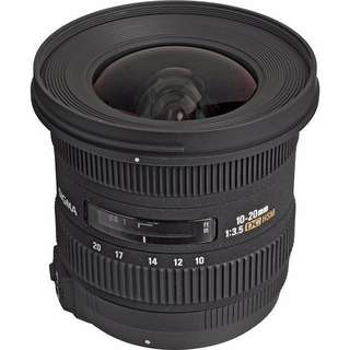 Wide Angle Lens - Sigma 10mm - 20 mm