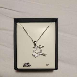 Bird chain necklace