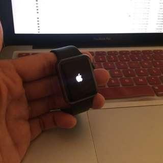 Iwatch 38mm Black (Apple Watch) Fullset