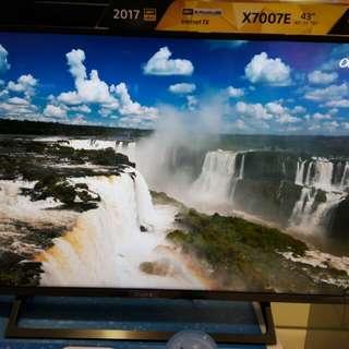 Sony tv kd 43x7007e UHD 4K HDR