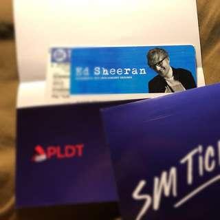 Ed Sheeran Gold ticket at MOA Concert Grounds April 8 2017