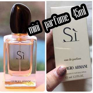 mini parfume 45 ml SI Gior
