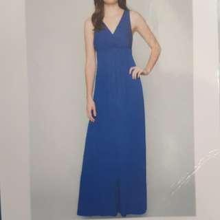 Blue Long dress (size L)