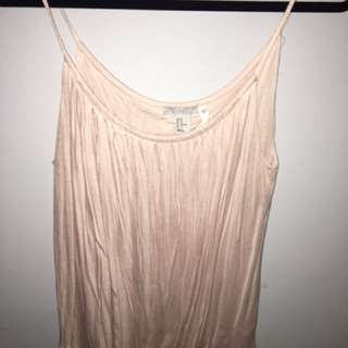 Blush/ Peachy Pink Tank