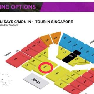 EASON CHAN FRONT ROW TICKETS TODAY ONLY FAST DEAL