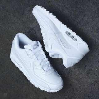 Nike Air Max 1 Essential All White / white black