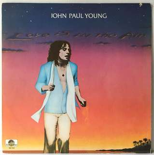 John Paul Young ‎– Love Is In The Air (1978 USA Original Vinyl LP - Excellent)