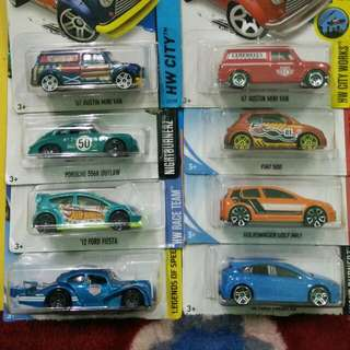 Lot Austin Mini. 8 Cars 1 Lot