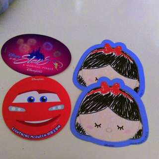迪士尼 hk disneyland 貼紙 stickers