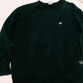 Authentic champion sweater