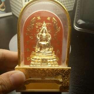 Thai Amulet Phra Chinnaraj Mini Bucha aka Victory Buddha