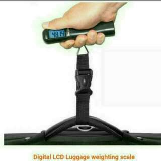 Christmas Gift Idea! Portable Digital Luggage Weight Scale