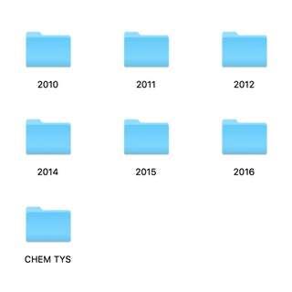 H2 Chem 2010-2017 Prelim