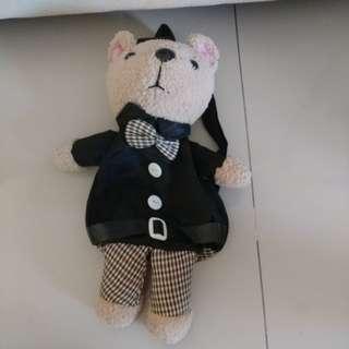 Tas backpack boneka beruang
