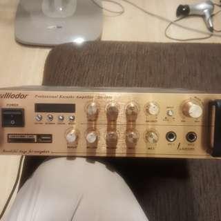 Vlliodor Professional Karaoke Amplifier