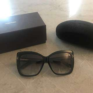 "Tom Ford ""Irina"" Square Cat Eye Sunglasses *REDUCED PRICE*"