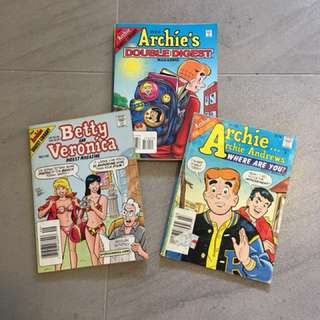 "$6 for 20 Preloved "" The Archie Digest Library "" Comic"