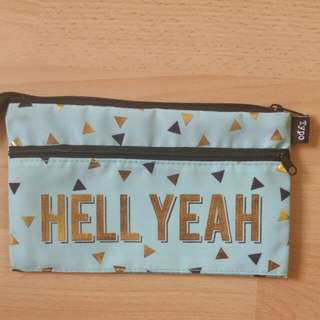 Typo Pencil  Case