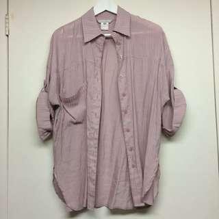Semi sheer blouse