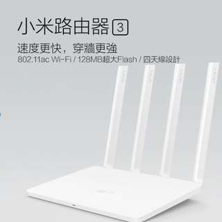 小米路由器wifi 3 屯門