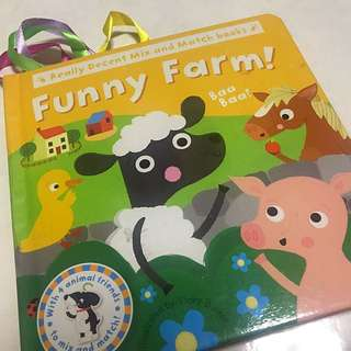 Funny Farm! Mix and Match Book
