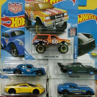 Selling #HotWheels For Sale. Lot Of 5 Cars for RM50.