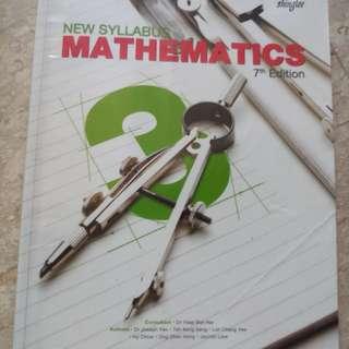Sec 3 shinglee math textbook