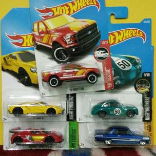 #HotWheels For Sale. Lot Of 5 Cars for RM50.