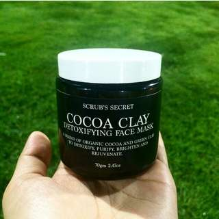 Cocoa Clay Face Mask