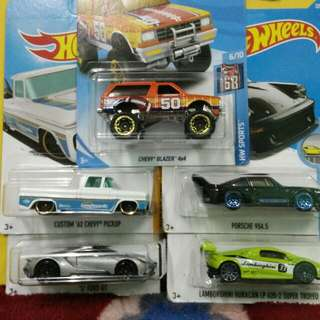 #HotWheels For Sale. Lot Of 5 Cars For RM50