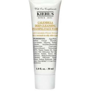 Kiehl's cendula foaming face wash