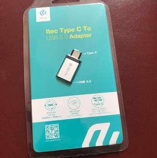 Itec Type C to USB 3.0 Adapter