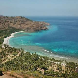 Freehold beachfront in lombok