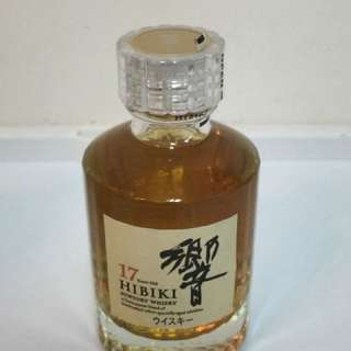 日本三得利 響 17年 調和威士忌 50ml 酒辦 Suntory 17 Years HIBIKI Blended Whisky