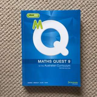 Year 9 maths Quest booklet