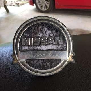 NISSAN 50th ANNIVERSARY EMBLEM