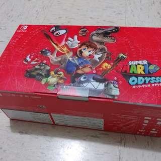 全新Switch超級瑪利歐奧德賽套裝主機連遊戲