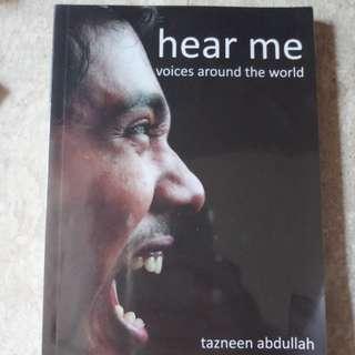 Hear me/ free me (both)
