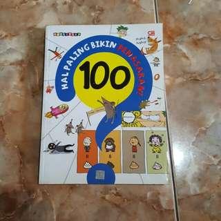 BUKU ANAK EDUKASI 100 HAL PALING BIKIN PENASARAN