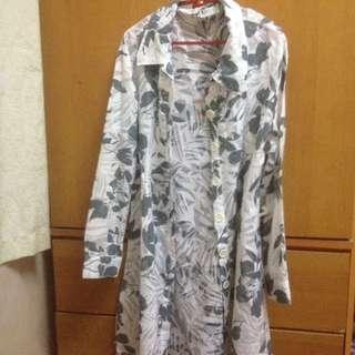 long blouse / cardigan