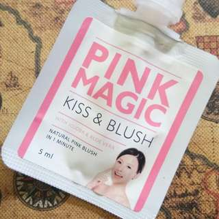 Pink magic kiss and blush by brunbrun paris