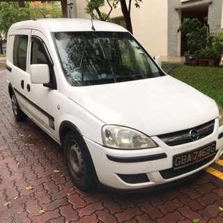 Opel combo auto & Toyota LiteAce auto/manual van rental