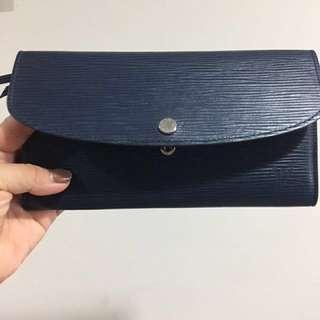 Louis Vuitton Emilie 水波紋長夾。聖誕禮物。