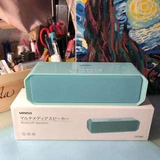 ✨全新MINISO Tiffany Blue Speaker