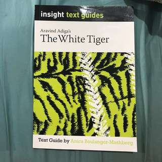 """Insight Guide for """"The White Tiger"""""""