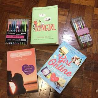 FANGIRL Book by Rainbow Rowell