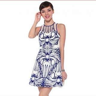 Love Bonito edeigh embossed organza dress